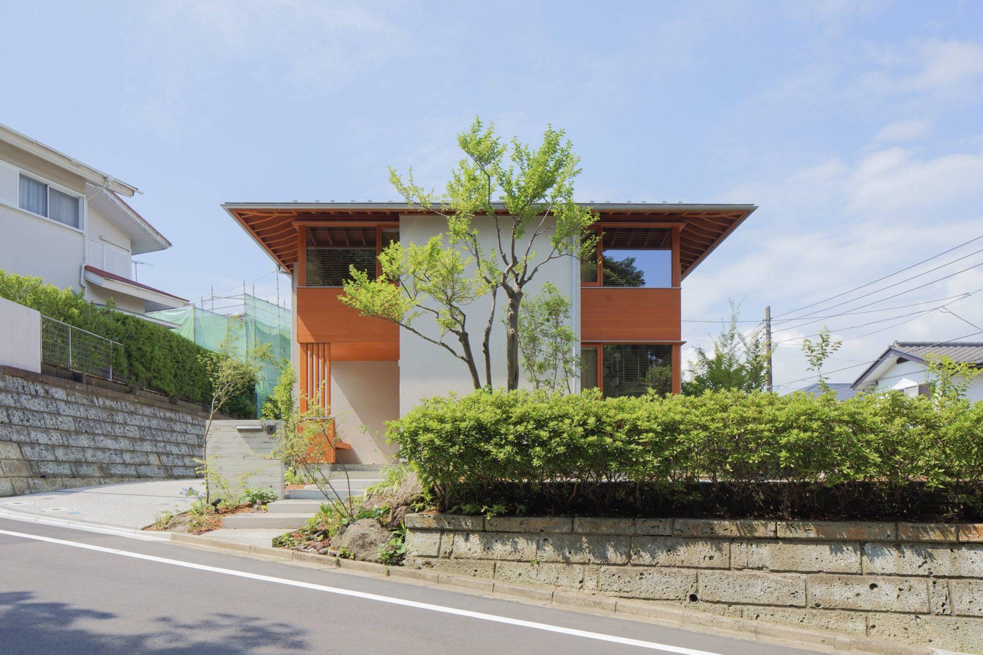 方形の家 外観/Mアトリエ
