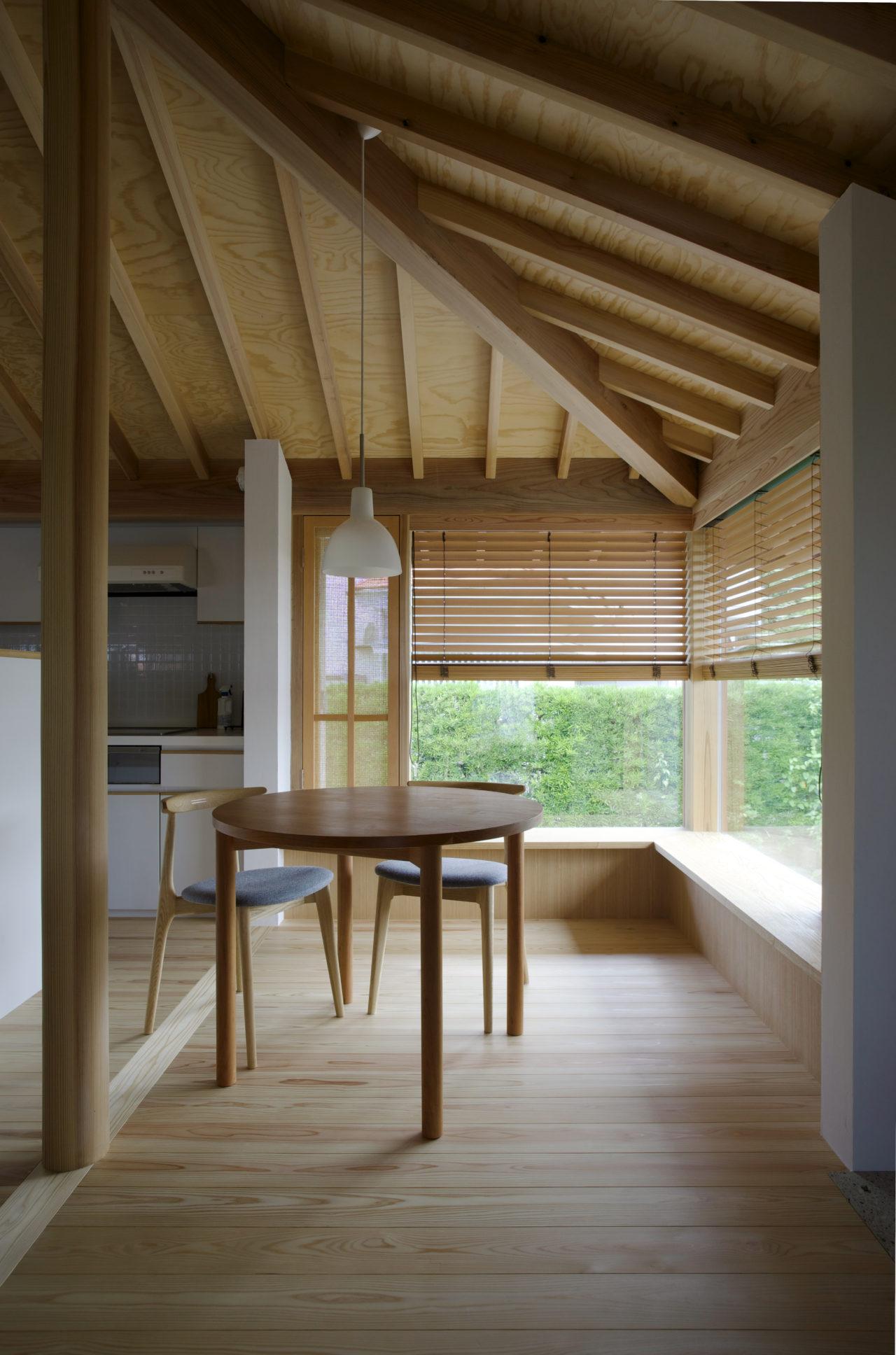方形の家 ダイニング/Mアトリエ