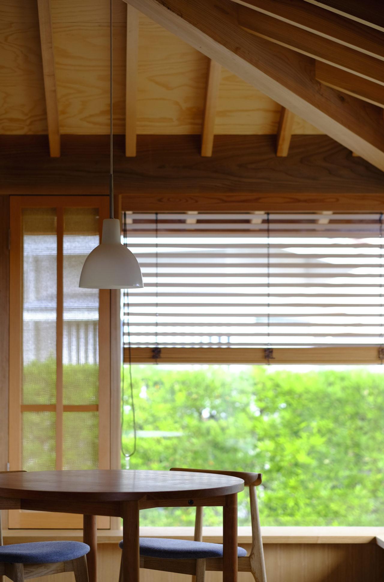 方形の家 窓辺/Mアトリエ