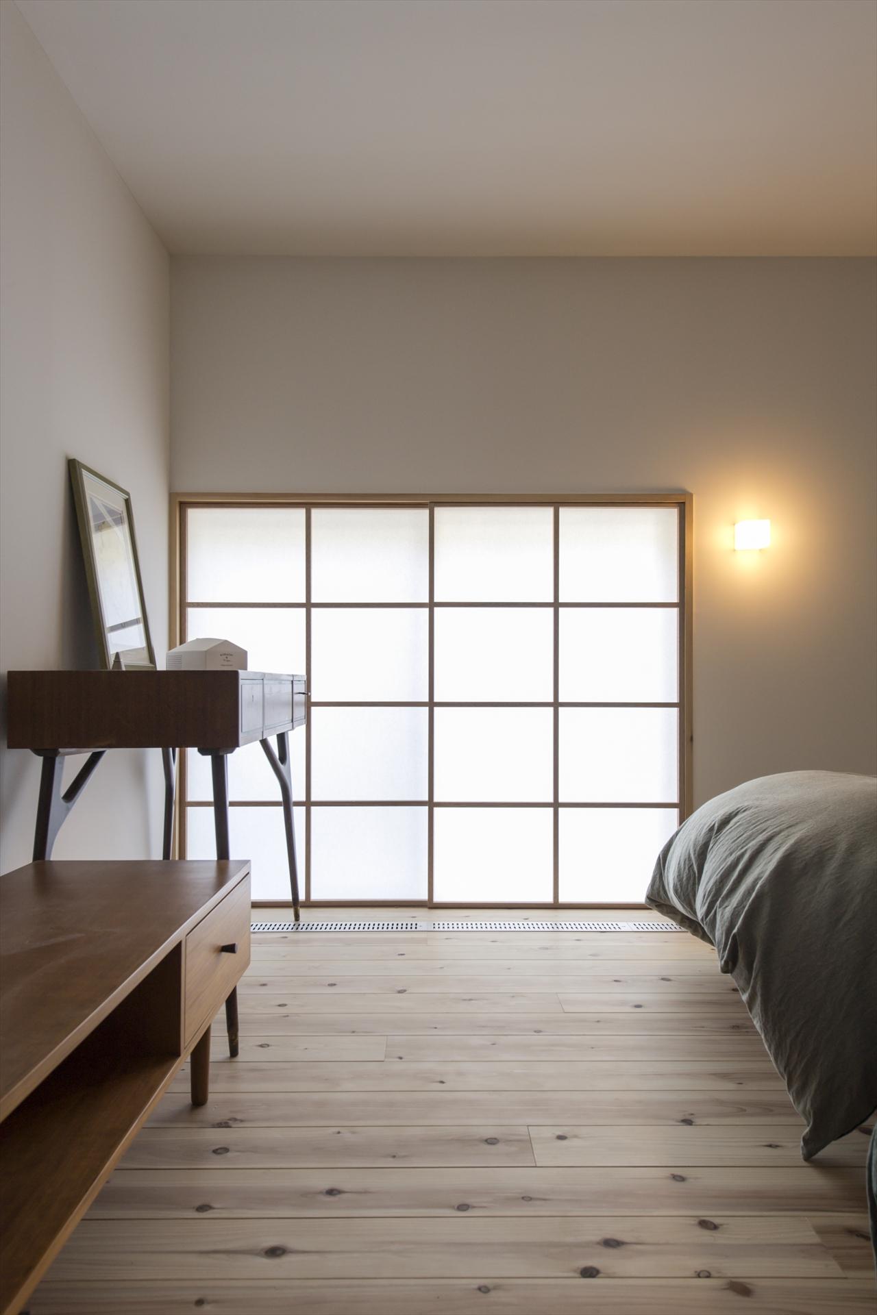 木月の家 寝室/Mアトリエ