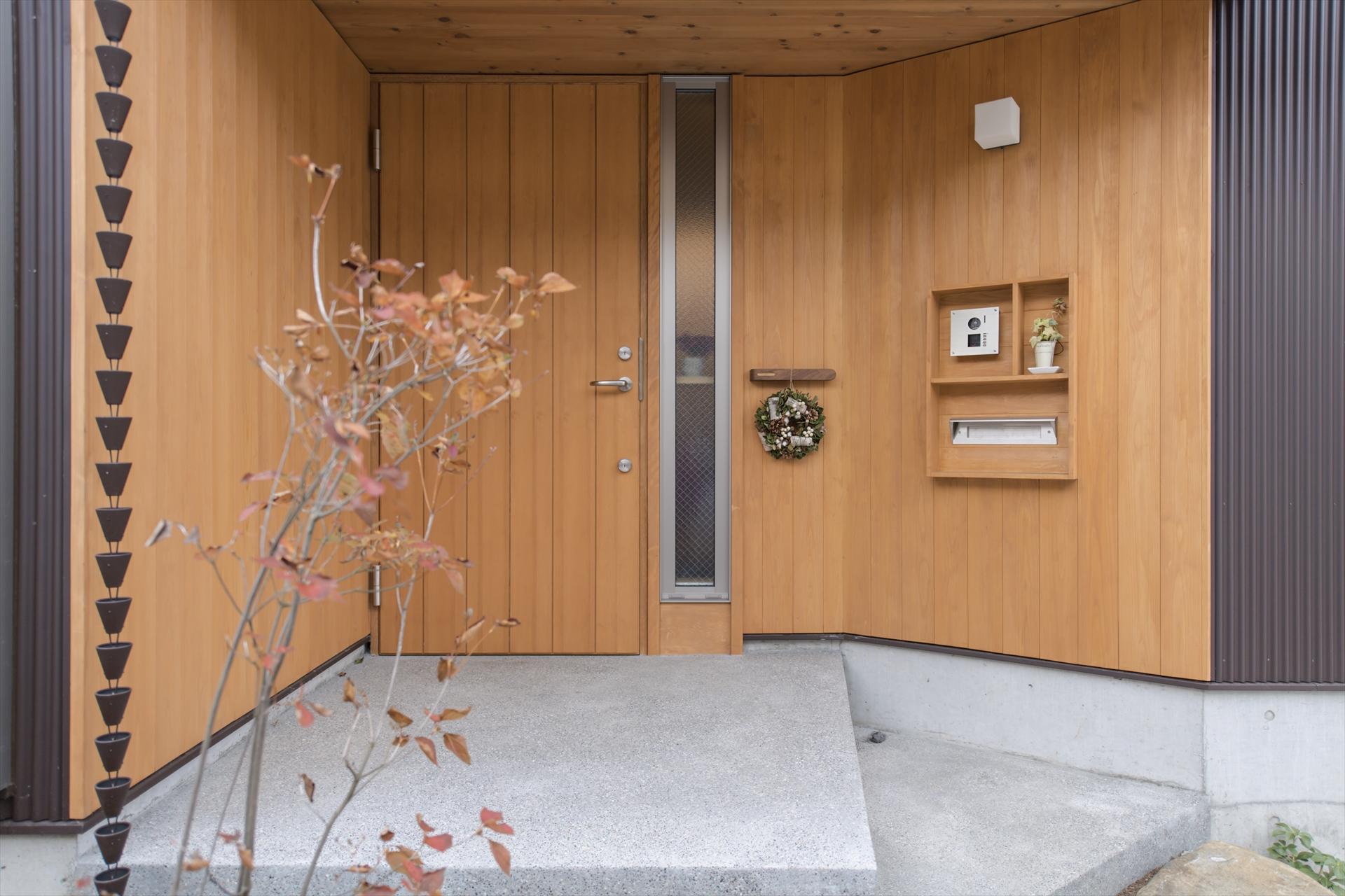 木月の家 玄関/Mアトリエ