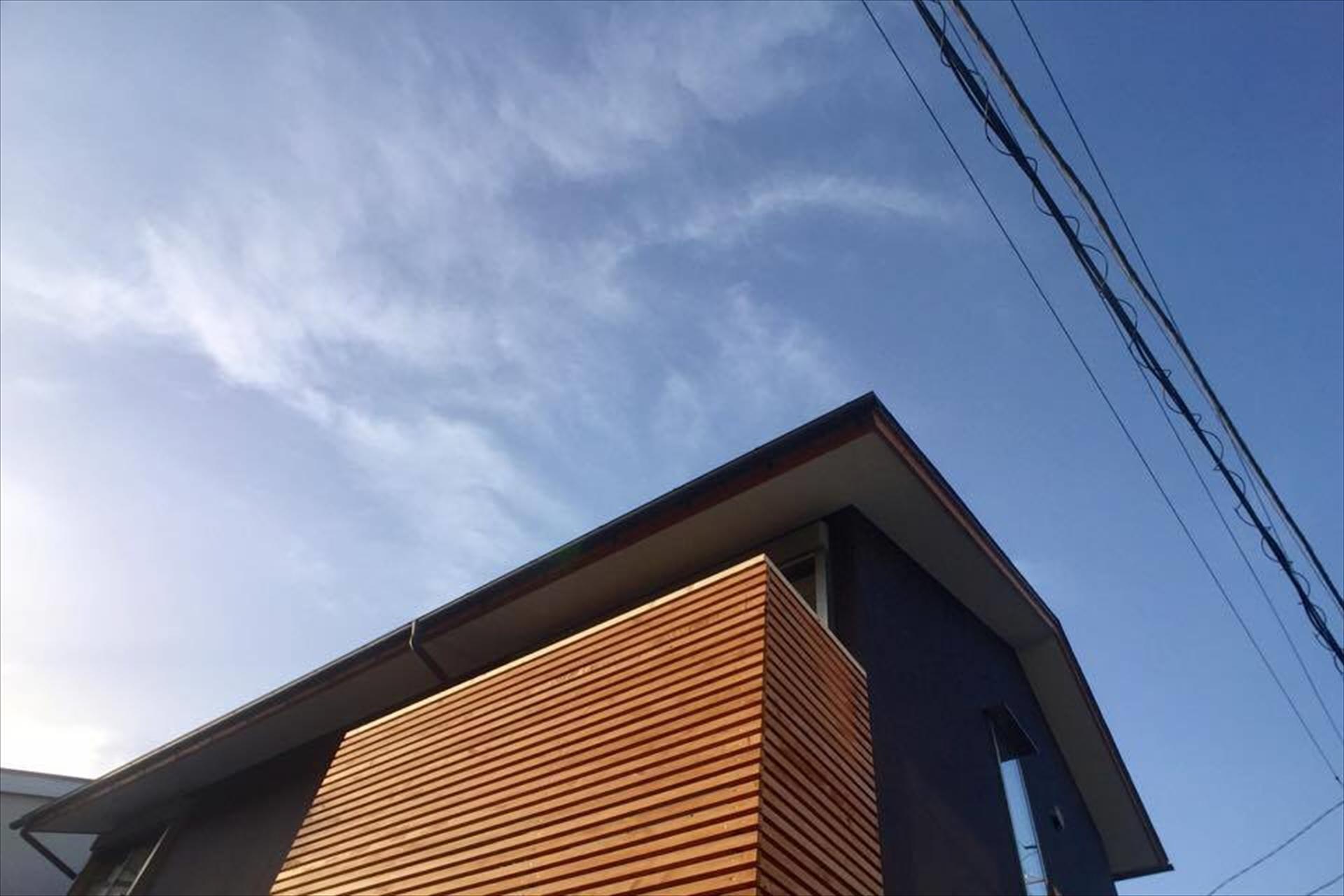 葉山の家 外観/Mアトリエ