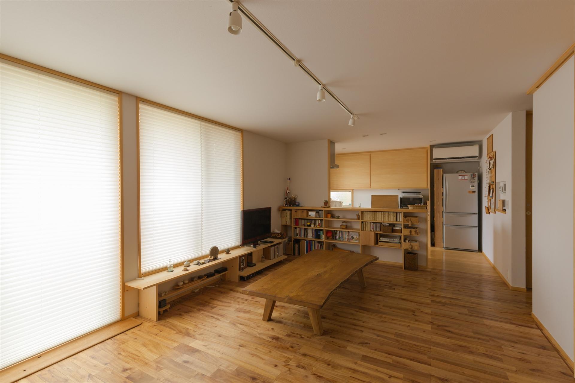 日向の家 LDK/Mアトリエ