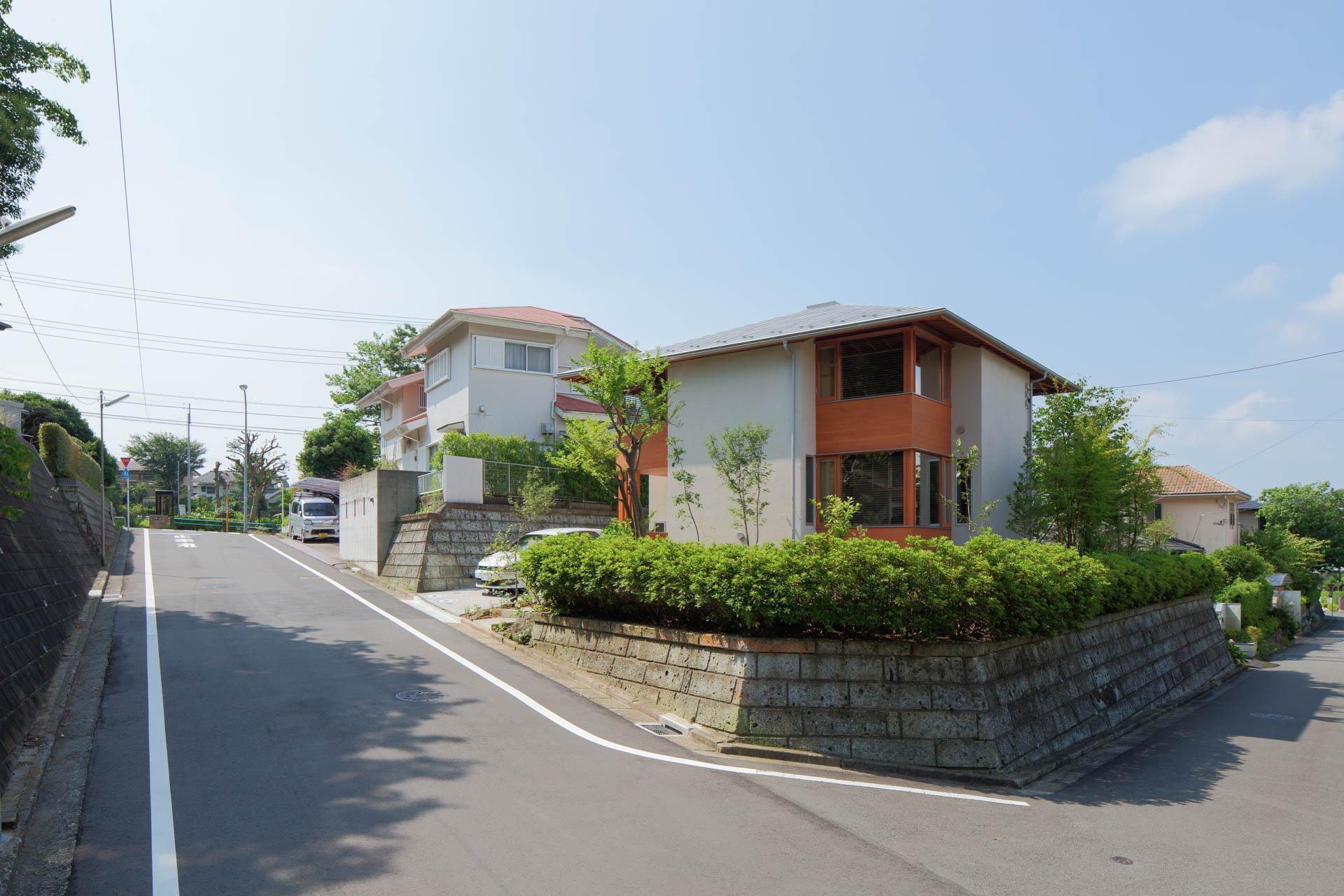 方形の家 風景/Mアトリエ