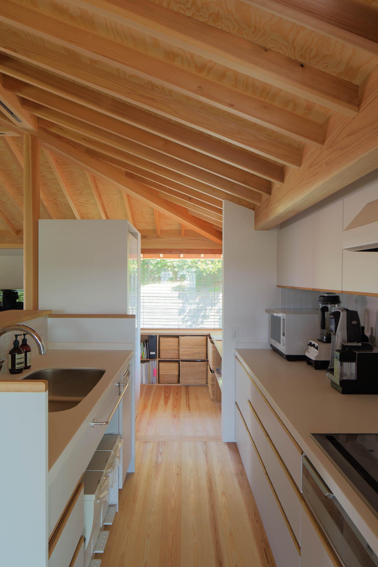 方形の家 キッチン/Mアトリエ