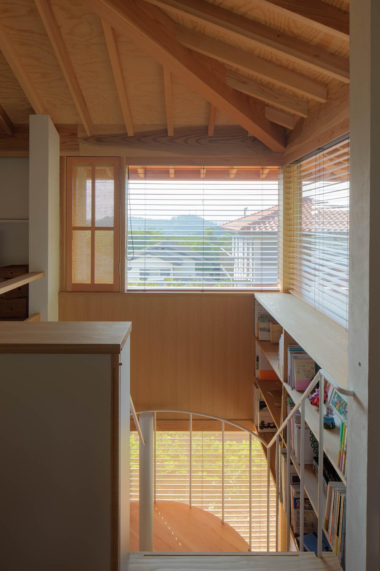 方形の家 階段/Mアトリエ