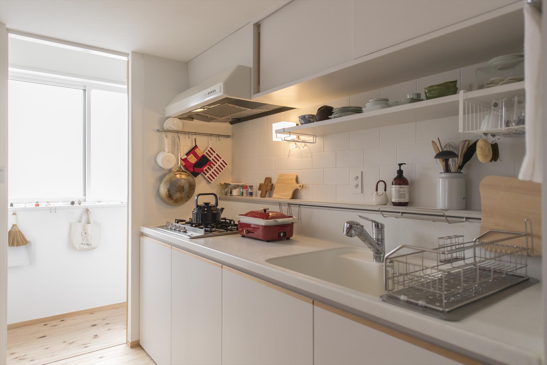 木月の家 キッチン/Mアトリエ