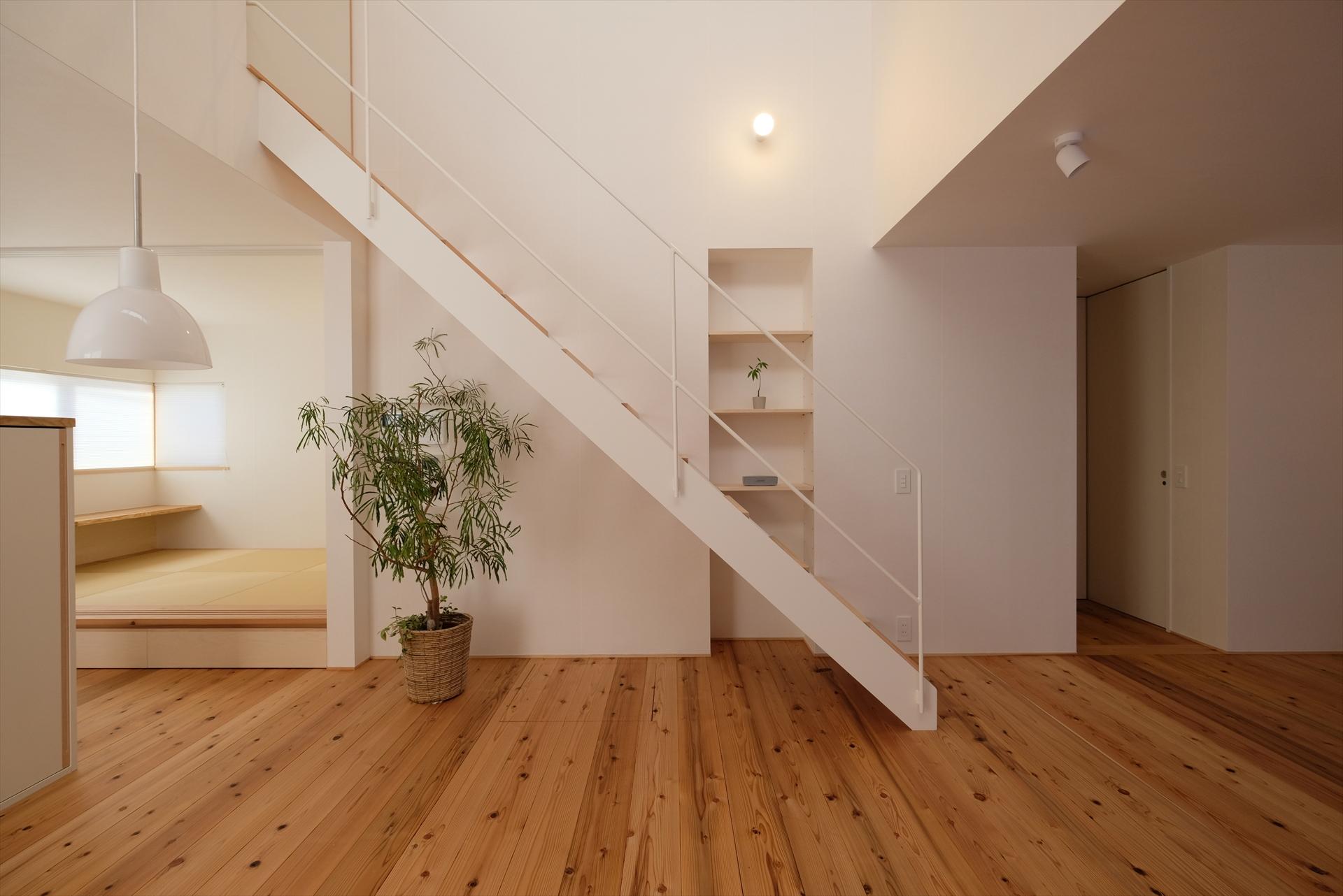 裾野の家 階段/Mアトリエ