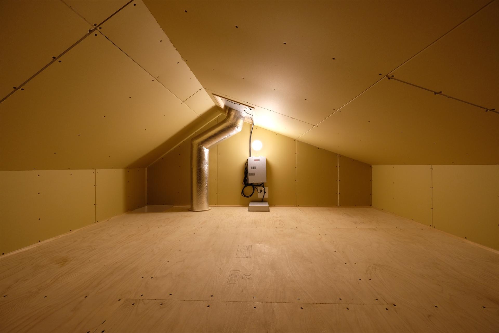 裾野の家 機械室/Mアトリエ