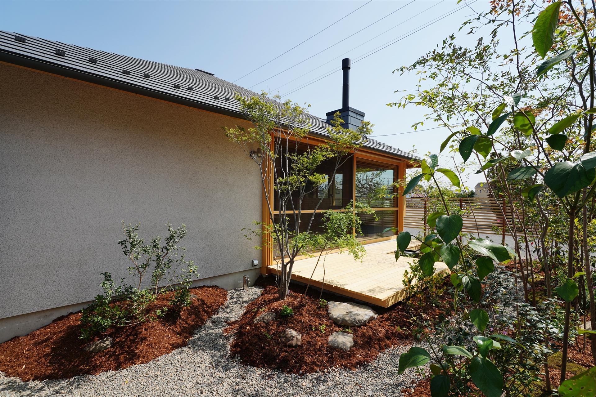 前橋の家・方形の平屋/Mアトリエ