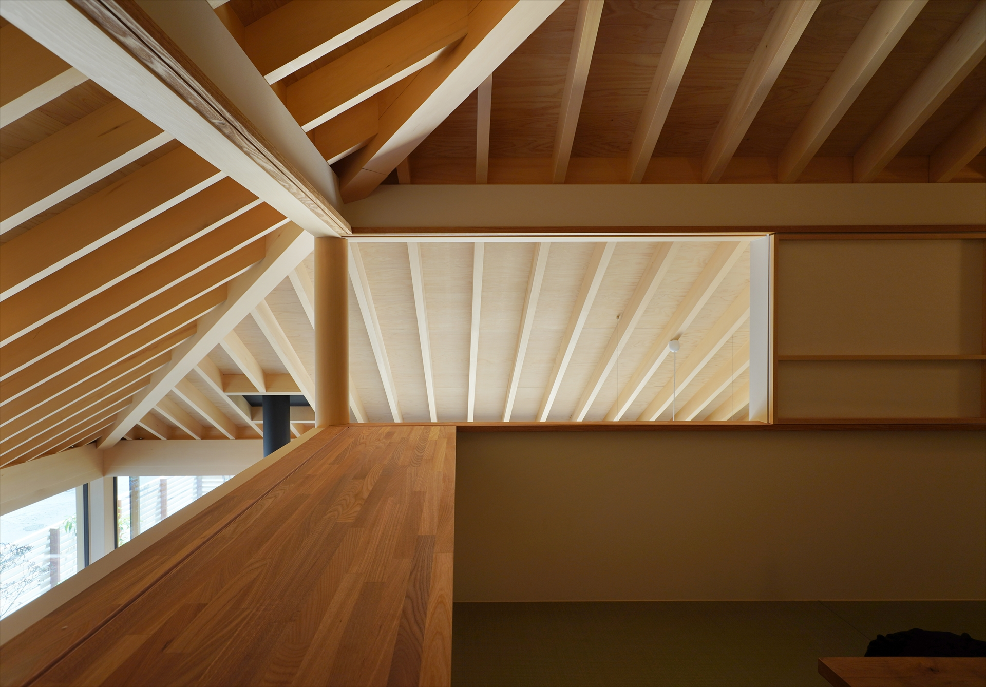 前橋の家・和室/Mアトリエ